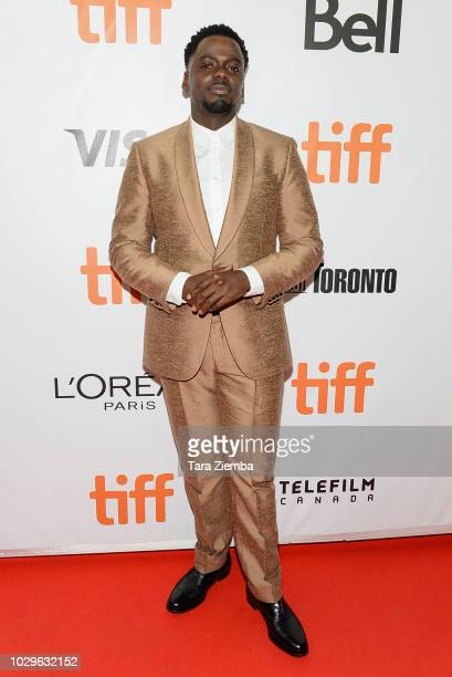 Daniel Kaluuya attends the premiere of 'Widows' during the 2018 Toronto International Film Festival at Roy Thomson Hall on September 8 2018 in...