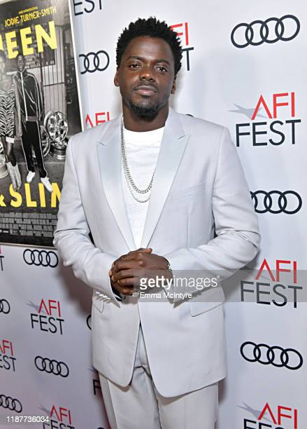 Daniel Kaluuya attends the Queen Slim Premiere at AFI FEST 2019 presented by Audi at the TCL Chinese Theatre on November 14 2019 in Hollywood...