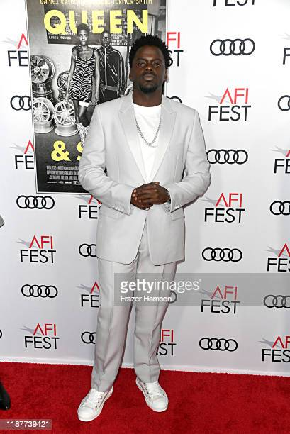 """Daniel Kaluuya attends the """"Queen & Slim"""" Premiere at AFI FEST 2019 presented by Audi at the TCL Chinese Theatre on November 14, 2019 in Hollywood,..."""