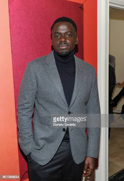 Daniel Kaluuya attends W Magazine's Celebration of its 'Best Performances' Portfolio and the Golden Globes with Audi Dior and Dom Perignon at Chateau...