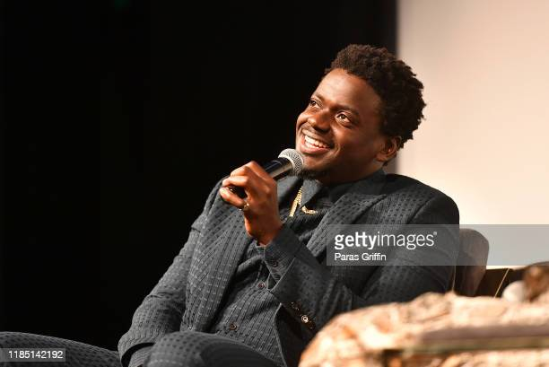 Daniel Kaluuya speaks onstage during In Conversation With Daniel Kaluuya at the 22nd SCAD Savannah Film Festival on November 02, 2019 at SCAD Museum...