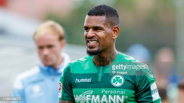 Daniel KeitaRuel of SpVgg Greuther Fuerth looks on during the match between 1860 Muenchen and SpVgg Greuther Fuerth at the Schauinsland Reisen Cup on...