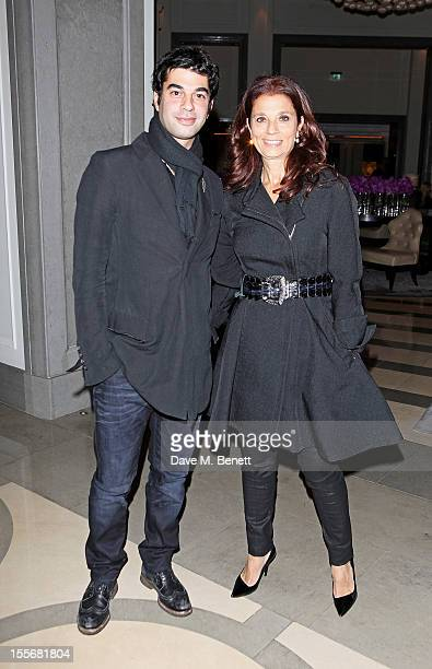 Daniel Khalilil and Marion Khalili attend the launch of the GREAT Boodles bangles, created in partnership with jewellery brand Boodles and the GREAT...