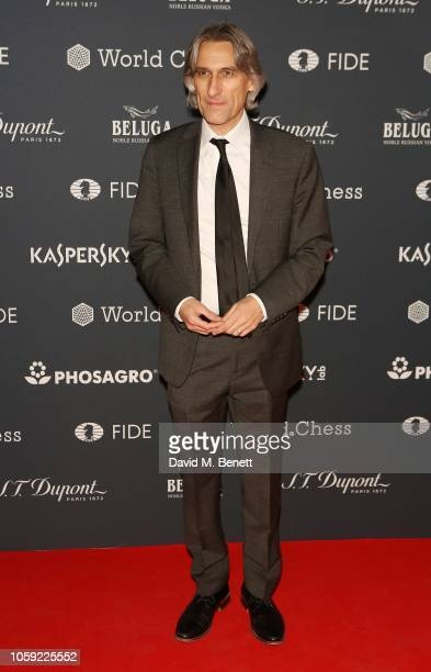 Daniel King attends the FIDE World Chess Championship 2018 Gala Opening 2018 at The VA on November 8 2018 in London England