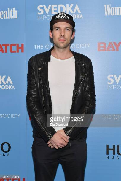 Daniel Kirch attends The Cinema Society's Screening Of Baywatch at Landmark Sunshine Cinema on May 22 2017 in New York City