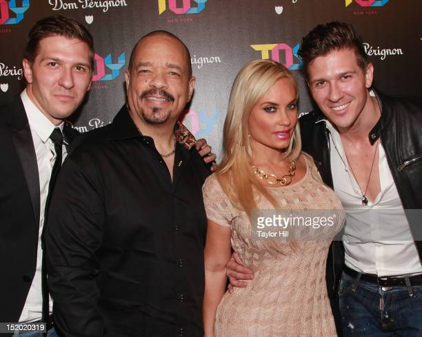 Daniel Koch IceT Coco and Derek Koch attend the TOY Restaurant Grand Opening at TOY at Gansevoort Hotel on September 14 2012 in New York City