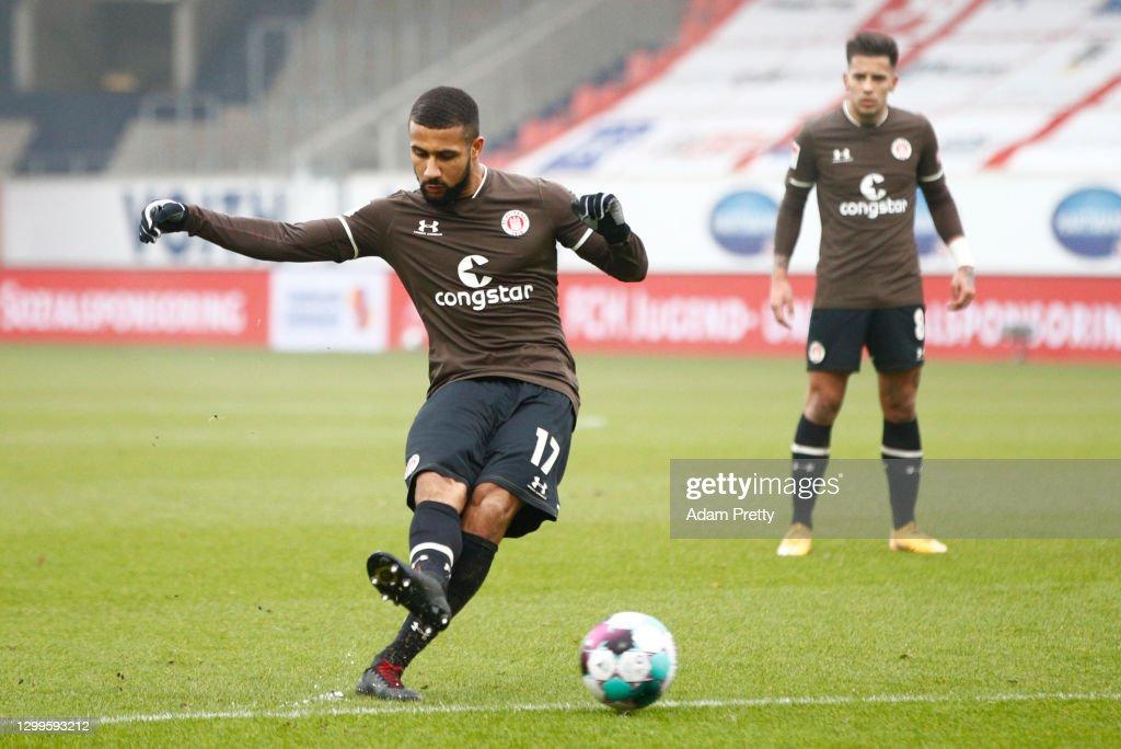 1. FC Heidenheim 1846 v FC St. Pauli - Second Bundesliga : Fotografía de noticias