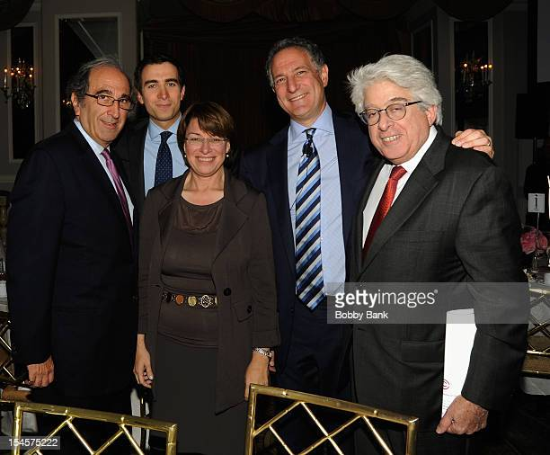 Daniel L. Doctoroff, President CEO of Bloomberg LP, Andrew Lack and Andrew Ross Sorkin,Senator Amy Klobuchar and Jay Kriegel attends the 2012 Center...