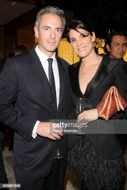 Daniel Lalonde and Amy Erbesfeld attend LOUIS VUITTON 2010 Cruise Collection Launch with MAGGIE GYLLENHAAL at SAKS FIFTH AVENUE at Louis Vuitton Saks...