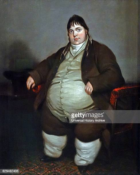 Daniel Lambert animal breeder from Leicester England famous for his unusually large size In 1805 Lambert weighed 50 stone and had become the heaviest...