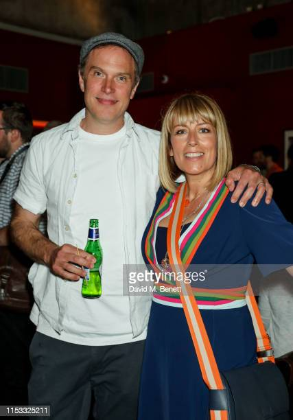 Daniel Lapaine and Fay Ripley attend a special screening and QA for new Channel 4 comedy This Way Up at BFI Southbank on July 2 2019 in London England