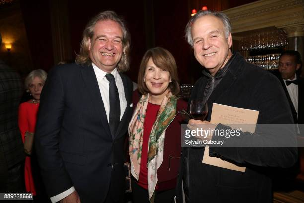 Daniel Laporte Janice Parker and John Danzer attend The Institute of Classical Architecture Art Celebrates the Sixth Annual Stanford White Awards at...