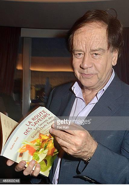 Daniel Lauclair attends 'La Route Des Saveurs Les Secrets Des Grands Chefs Etoiles' Nadine Rodd's Launch Book At the Restaurant Le Diane in Le...