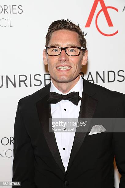 Daniel Lawson attends the 2016 Accessories Council 20th Anniversary ACE Awards at Cipriani 42nd Street on August 2 2016 in New York City