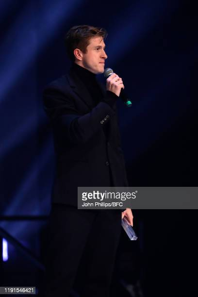 Daniel Lee accepts the Accessories Designer of the Year award on behalf of Bottega Veneta during The Fashion Awards 2019 held at Royal Albert Hall on...
