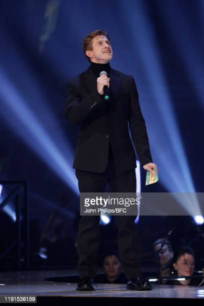 Daniel Lee on stage during The Fashion Awards 2019 held at Royal Albert Hall on December 02, 2019 in London, England.