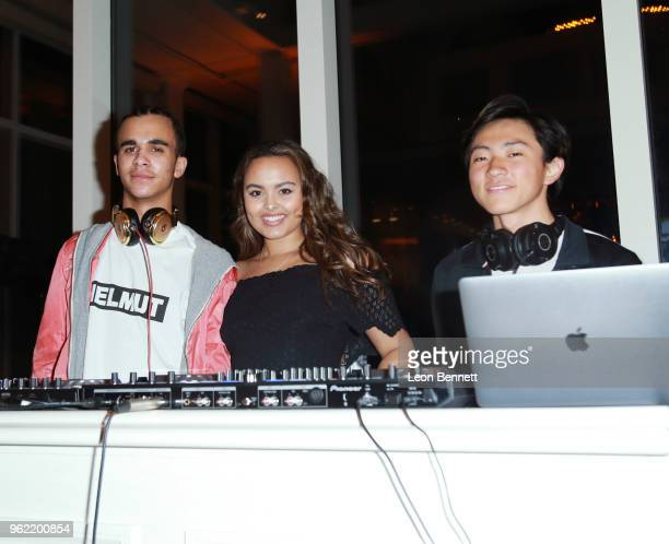 Daniel Leonard Camille Leonard and Nathan Yoo attend the Sugar Ray Leonard Foundation 9th Annual Big Fighters Big Cause Charity Boxing Night...