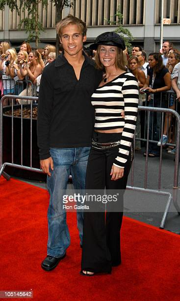 Daniel Letterle during IFC Premiere of Camp Outside Arrivals New York City at The Ziegfeld Theater in New York City New York United States