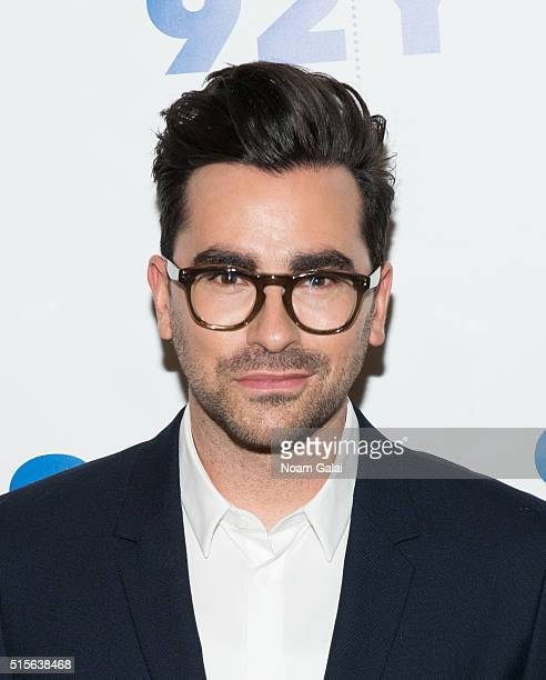 Daniel Levy attends 92nd Street Y's 'Schitt's Creek' panel at 92nd Street Y on March 14 2016 in New York City