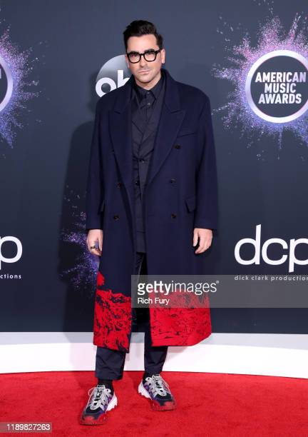 Daniel Levy attends the 2019 American Music Awards at Microsoft Theater on November 24 2019 in Los Angeles California