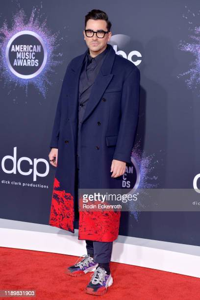 Daniel Levy attends the 2019 American Music Awards at Microsoft Theater on November 24, 2019 in Los Angeles, California.