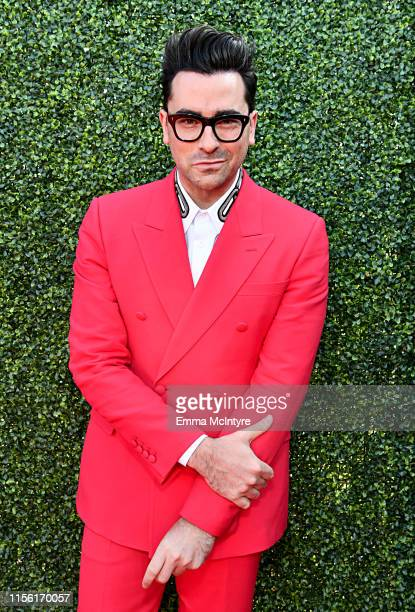 Daniel Levy attends the 2019 MTV Movie and TV Awards at Barker Hangar on June 15, 2019 in Santa Monica, California.