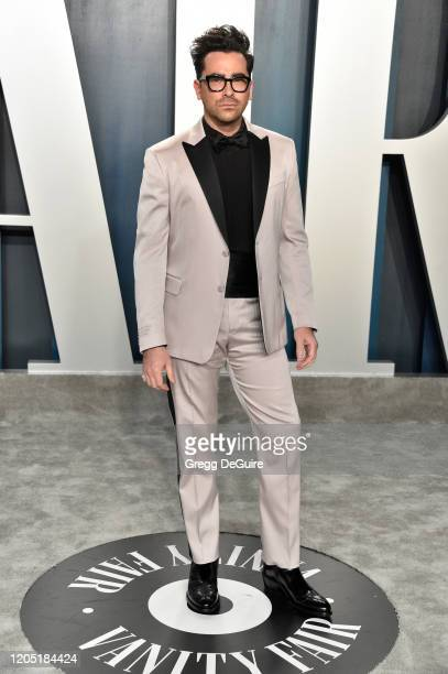 Daniel Levy attends the 2020 Vanity Fair Oscar Party hosted by Radhika Jones at Wallis Annenberg Center for the Performing Arts on February 09, 2020...