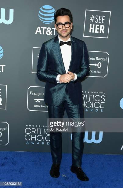 Daniel Levy attends the 24th annual Critics' Choice Awards at Barker Hangar on January 13 2019 in Santa Monica California