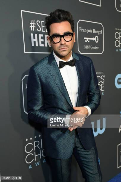 Daniel Levy attends the 24th annual Critics' Choice Awards at Barker Hangar on January 13, 2019 in Santa Monica, California.