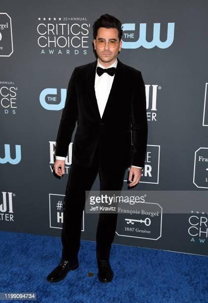 Daniel Levy attends the 25th Annual Critics' Choice Awards at Barker Hangar on January 12 2020 in Santa Monica California