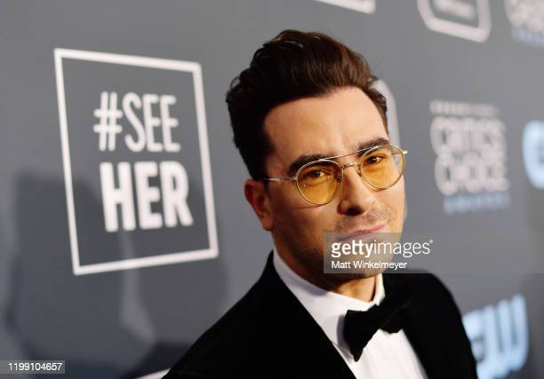 Daniel Levy attends the 25th Annual Critics' Choice Awards at Barker Hangar on January 12, 2020 in Santa Monica, California.