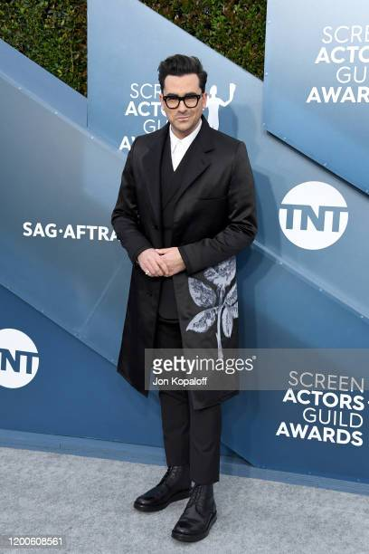 Daniel Levy attends the 26th Annual Screen Actors Guild Awards at The Shrine Auditorium on January 19, 2020 in Los Angeles, California.