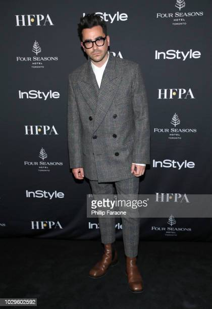 Daniel Levy attends The Hollywood Foreign Press Association and InStyle Party during 2018 Toronto International Film Festival at Four Seasons Hotel...