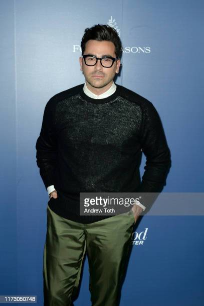Daniel Levy attends The Hollywood Foreign Press Association and The Hollywood Reporter party at the 2019 Toronto International Film Festival at Four...