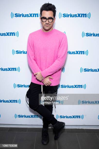 Daniel Levy visits SiriusXM Studios on January 17 2019 in New York City