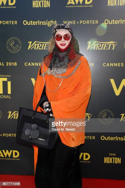 Daniel Lismore attends as WIFT International with Variety Alliance of Women Directors host a cocktail party during the 71st Cannes Film Festival...