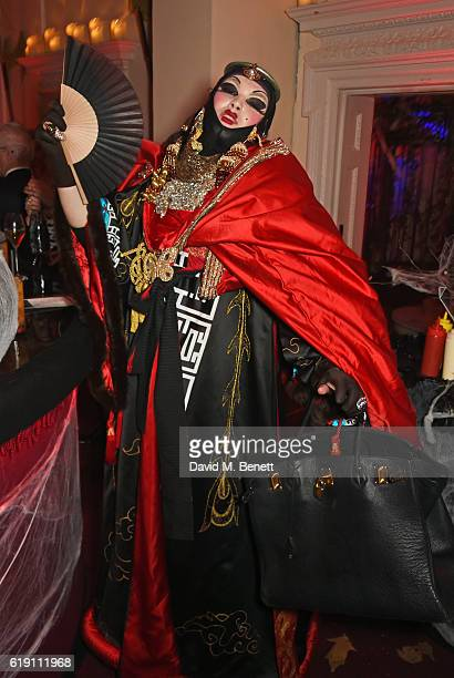Daniel Lismore attends Halloween at Annabel's at 46 Berkeley Square on October 29 2016 in London England