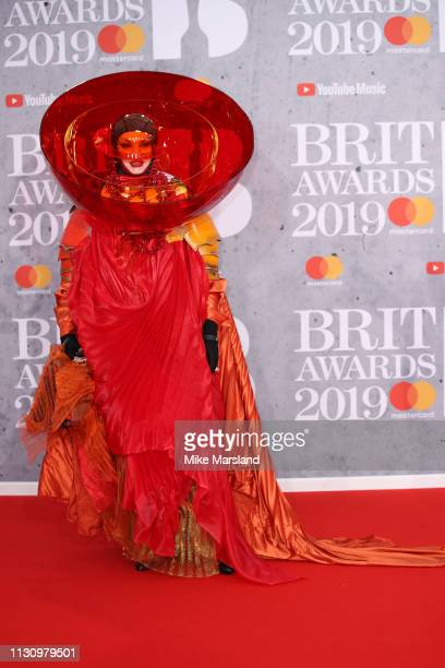 Daniel Lismore attends The BRIT Awards 2019 held at The O2 Arena on February 20 2019 in London England