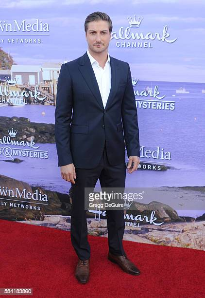 Daniel Lissing arrives at the Hallmark Channel and Hallmark Movies and Mysteries Summer 2016 TCA Press Tour Event on July 27 2016 in Beverly Hills...