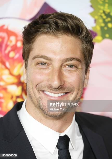 Daniel Lissing arrives to the Hallmark Channel and Hallmark Movies and Mysteries Winter 2018 TCA Press Tour held at Tournament House on January 13...