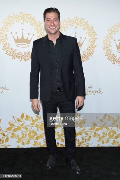 Daniel Lissing attends Hallmark Channel And Hallmark Movies And Mysteries 2019 Winter TCA Tour at Tournament House on February 09 2019 in Pasadena...