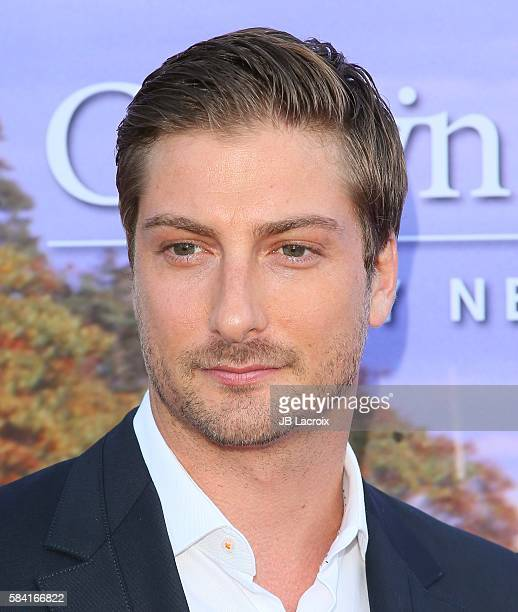 Daniel Lissing attends the Hallmark Channel and Hallmark Movies and Mysteries Summer 2016 TCA press tour event on July 27, 2016 in Beverly Hills,...