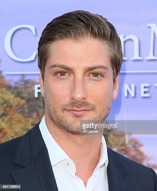 Daniel Lissing attends the Hallmark Channel and Hallmark Movies and Mysteries Summer 2016 TCA press tour event on July 27 2016 in Beverly Hills...