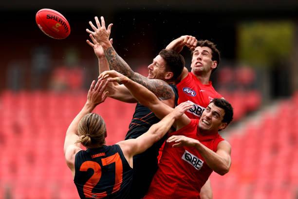 AUS: AFL Practice Match - GWS v Sydney