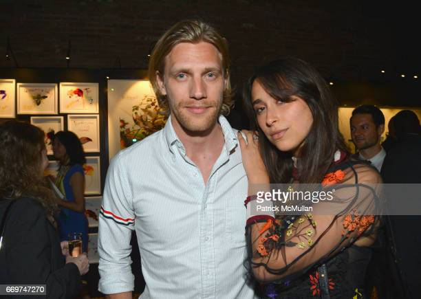 Daniel Lonnstrom and Chloe Wise attend The Turtle Conservancy's 4th Annual Turtle Ball at The Bowery Hotel on April 17 2017 in New York City