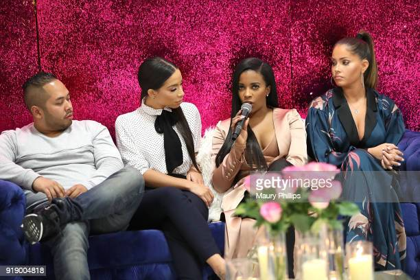 Daniel Lopez Jessica Killings Jessica Rich and Olivia Pierson attend the 2018 Beauty The Beats Celebrity Party and Panel Discussion at Dream Magic...