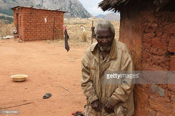 Daniel Mabuza poses in the southern rural village of Sibovu on July 13 2011 Daniel Mabuza depends on government's free primary education programme as...