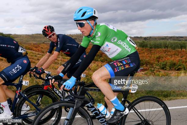 Daniel Martin of Ireland and Team Israel StartUp Nation Green Points Jersey / Christopher Froome of The United Kingdom and Team INEOS Grenadiers /...