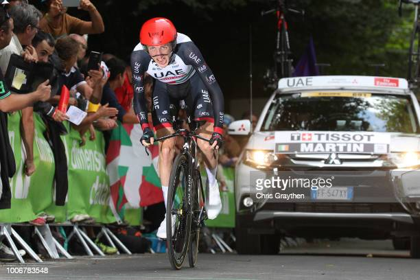 Daniel Martin of Ireland and UAE Team Emirates / during the 105th Tour de France 2018, Stage 20 a 31km Individual Time Trial stage from...