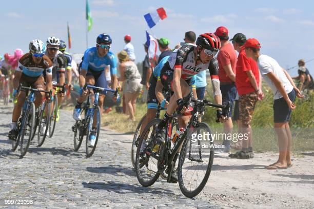Daniel Martin of Ireland and UAE Team Emirates / during the 105th Tour de France 2018 Stage 9 a 1565 stage from Arras Citadelle to Roubaix on July 15...